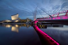 The Imperial War Museum, Salford Quays, Manchester, England