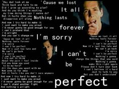simple plan - Perfect lyrics love it Music Lyrics, Music Quotes, Simple Plan Lyrics, Tv Show Music, Movie Lines, Try Harder, Greatest Songs, Save My Life, Online Gratis