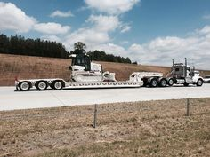 Impressive ! Blythe Construcction (Eurovia in USA) provided the escort vehicle for the I-485 grand opening...