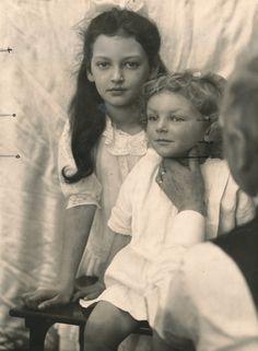 Alfons Mucha, Jaroslava Muchová and Jiří Mucha