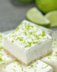Healthier Key Lime Bars Recipe by Tasty