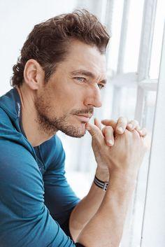 Model David Gandy On Men's Skincare | Into The Gloss