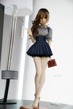 人形 how to do crochet hair styles - Crochet Hair Styles Pretty Dolls, Beautiful Dolls, Ooak Dolls, Barbie Dolls, Barbie Mode, Enchanted Doll, Kawaii Doll, Realistic Dolls, Anime Dolls