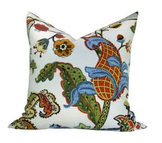 Covington Wilmington pillow cover in Multi by OrangeOliveStudio