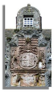 Fraser Crest and a bit of history of Castle Fraser