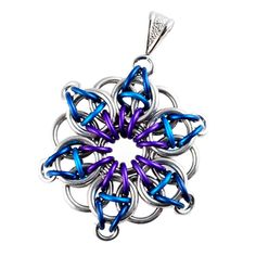 DIY Jewelry Chainmaille Celtic Visions Star Pendant   Blue Buddha Boutique