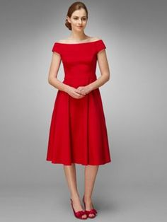 Phase Eight Sweetheart Dress Red