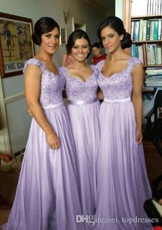 Hot Selling Purple Lilac Lavender Bridesmaid Dresses Lace Chiffon Maid Of Honor Beach Wedding Party Dresses Plus Size Evening Dresses Girl Bridesmaid Dresses Informal Bridesmaid Dresses From Topdresses, $72.52| Dhgate.Com