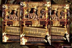 Check out Coyote Bar Flyer Template by ThatsDesign on Creative Market