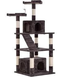 BMS Cat Tree Tower Condo,Modern Indoor Multi-Level Plush Cat Activity Center with Scratching Post and - Cat store galore Cat Activity Centre, Activity Centers, Cat Perch, Cat Store, Cat Towers, Tower Design, Sisal Rope, Cat Playground, Cat Scratching Post
