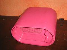 stereo 8 baby rca colore ROSA brionvega mangiadischi vintage anni70 -inserzione2