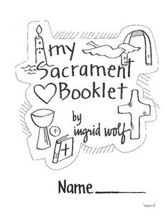 students will enjoy learning about the sacraments with this activity booklet each of the seven - Coloring Pages Catholic Sacraments