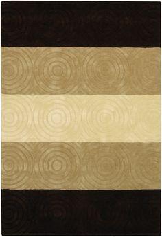 Couristan Zen Garden Collection 7335-1116 Casual Beige Rug