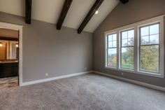 augusta-34 Wall color: Perfect Greige by Sherwin Williams | Carpet Selection: Shaw Talk to the Hand 3 Delicate Tan