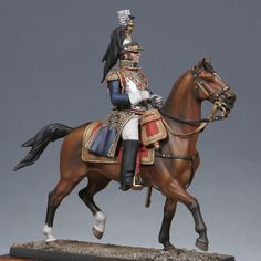 Général Comte Jean d'Hautpoul - Virtual Museum of Historical Miniatures Model Hobbies, Military Figures, Virtual Museum, French Army, Napoleonic Wars, Toy Soldiers, American Revolution, Military History, Figure Painting
