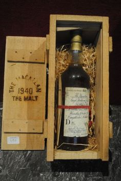 1 Bout WHISKY MACALLAN MISE 1981 CB 1940 - Lombrail-Teucquam - 23/10/2015