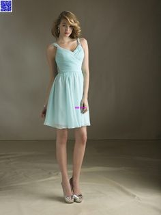 Online Shop Nitree Cheap Sky Blue Bridesmaid dress Party Gown Fashion  Collection Unique Sexy Luxury Designer Celebrity Romantic Spring Short 0266a35f0c63