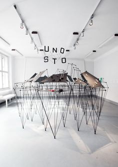 Zbynek Krulich designed what they call Jewelry City to present the work of UNOSTO.