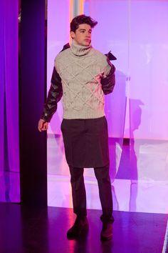 JEAN PAUL GAULTIER AUTOMNE-HIVER 2013-2014 Paris Rose Water, Jeans, 2013, Paris, Skirts, Fall Winter, Jean Paul Gaultier, Fashion, Men's Style