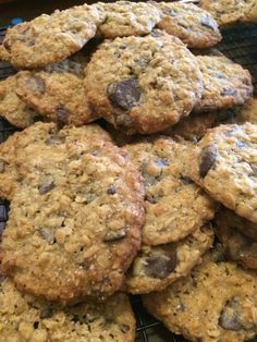 Choc Oat Cookies