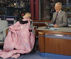 51 times Jennifer Lawrence proved shes the master of the universe. When she cuddled up on Letterman because she wanted a blanket, so she got a blanket.