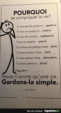 Discover recipes, home ideas, style inspiration and other ideas to try. The Words, Cool Words, Words Quotes, Life Quotes, French Language Lessons, Quote Citation, French Quotes, Learn French, Positive Attitude