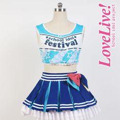 Sonoda Umi Lovelive school idol project μ's Cheerleaders Cosplay Full set