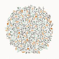 Central Park: by Johnny Kotze Textile Prints, Art Prints, Park Art, Artist Life, Floral Illustrations, Central Park, Textures Patterns, Color Schemes, Drawings