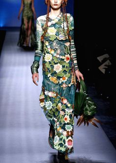 jean paul gaultier  Somewhere just the other side of out of this world...