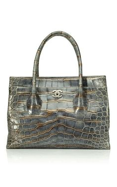 b03ba59da7a2 Shop Heritage Auctions Special Collections Vintage Chanel Oversize Cerf  Tote at Moda Operandi
