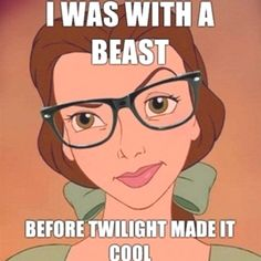 YES! Hence Belle is awesome& Beauty Beast will forever be the best movie ever
