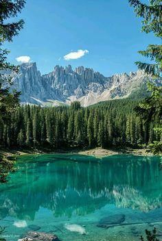 Lake Carreza Italy