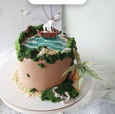 Aquarium Cake, Island Cake, Ocean Cakes, Jelly Cake, Fashion Cakes, Little Cakes, Pastry Cake, Pretty Cakes, Mini Cakes