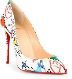 78fddb53598e6 Christian Louboutin Pigalle Follies 100 patent loubitag pumps Chaussures  Élégantes