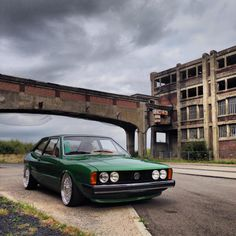 Volkswagen Scirocco, Volkswagen in the mid-1970s replaced the Karmann Ghia coupe with this, the Scirocco.