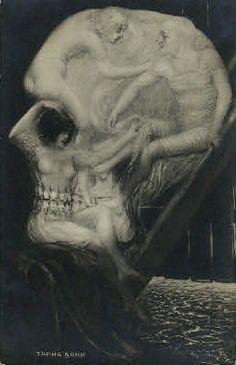 Optical Illusions - Skulls - various - Norbert Jung - Picasa Web Albums = girls