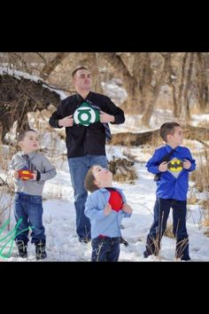 Awesome son and father picture idea