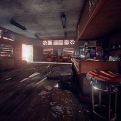 The Last Of Us UE 4 Bar fan made