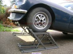 Adjustable Car Ramps | C J AUTOS | Garage equipment for the Classic Car Enthusiast