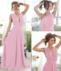 Rochii domnisoare de onoare roz pal lungi din voal Prom Dresses, Formal Dresses, Backless, Chic, Stuff To Buy, Fashion, Wraps, Dresses For Formal, Shabby Chic