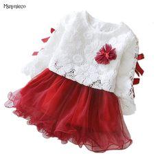 9943e7f118a94 Bébé fille robe 2019 nouvelle marque princesse infantile robes de fête pour  les filles automne enfants tutu robe bébé vêtements enfant en bas âge  vêtements