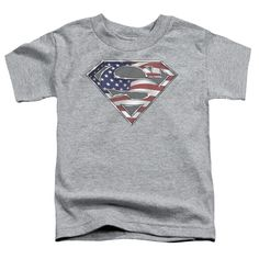 SUPERMAN ALL Toddler Short Sleeve T-Shirt