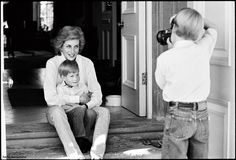 Kensington Palace (@KensingtonRoyal) on Twitter: Diana with Harry and William taking the picture