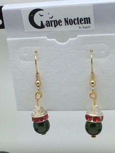 Earrings Homemade Jewelry, Drop Earrings, How To Make, Drop Earring