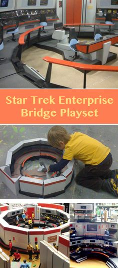 A U.S.S. Enterprise of your very own. Make sure it doesn't fill with Tribbles!