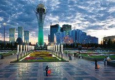The Bayterek, Kazakhstan.