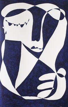 On The Line: An Interview with Artist Christiane Spangsberg — Teeth Magazine Graffiti, Soul Art, Figure Painting, Graphic Prints, Lino Prints, Figurative Art, Art Inspo, Line Art, Street Art