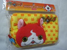 NEW Yokai Watch Jibabyan fluffy pouch Plush 3DS BANDAI JAPAN F/S #Bandai