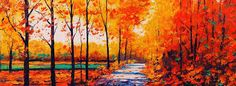 autumn paintings - Google Search