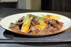 Beef With Bok Choy by Buddy Valastro